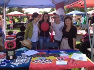 Volunteers at Pride 2012